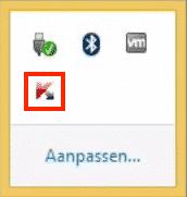 Kaspersky openen via het icoon